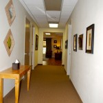 internal medicine clinic hallway in Raleigh